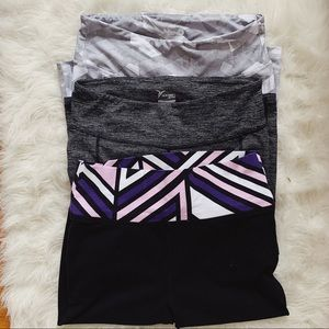 OLD NAVY ACTIVE Lot of 3 Cropped Leggings